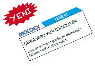MOLDEX - 9000 Serisi TAM YÜZ MASKE
