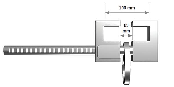 AT250 - Profil Sabitlemeli Ankrajı