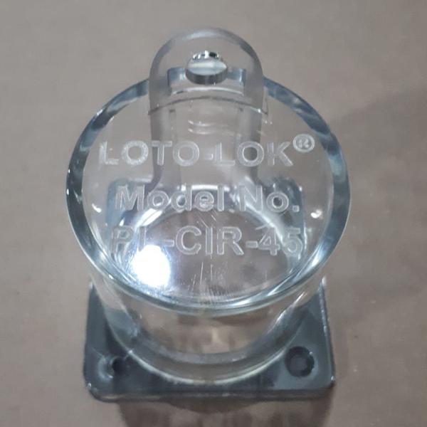 PL-CIR-45 Buton Kilidi   Erataş İş Güvenliği L.T.D.