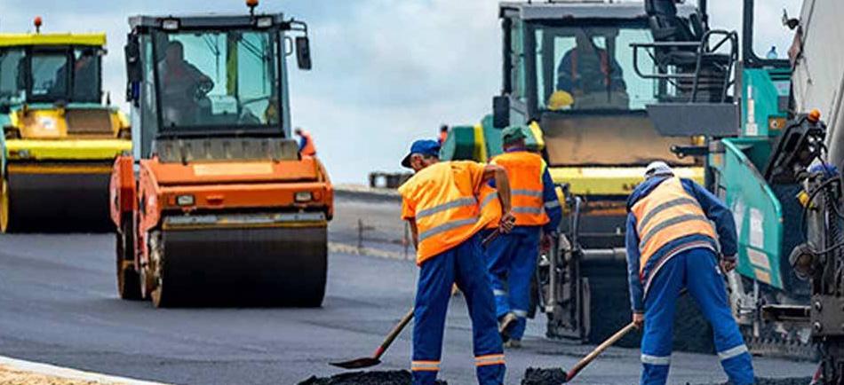 Yol Yapımında İş Sağlığı Güvenliği - Erataş İş Güvenliği Ekipmanları